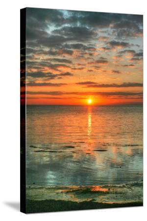 Key West Vertical-Robert Goldwitz-Stretched Canvas Print
