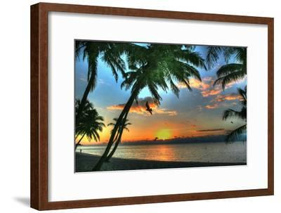 Key West Sunrise VII-Robert Goldwitz-Framed Premium Photographic Print