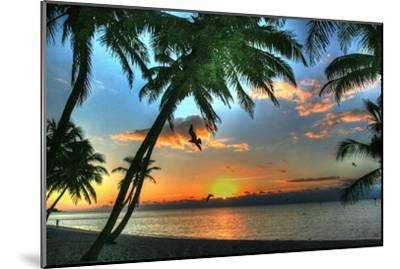 Key West Sunrise VII-Robert Goldwitz-Mounted Premium Photographic Print