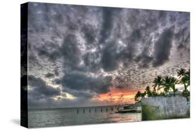 Key West Sunset IX-Robert Goldwitz-Stretched Canvas Print