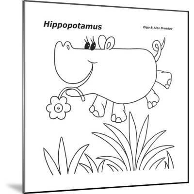 Hippopotamus-Olga And Alexey Drozdov-Mounted Giclee Print