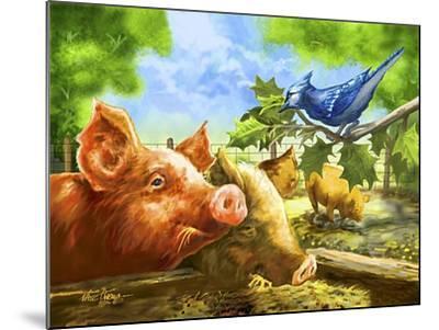 Hog Heaven-Nate Owens-Mounted Giclee Print