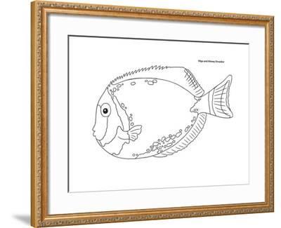 Coral Fish 5-Olga And Alexey Drozdov-Framed Giclee Print