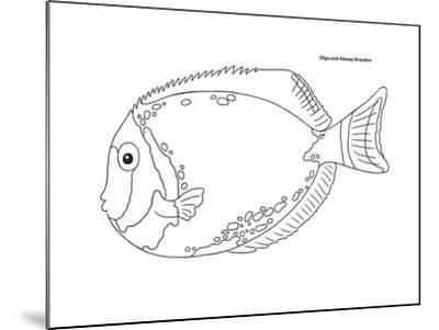 Coral Fish 5-Olga And Alexey Drozdov-Mounted Giclee Print