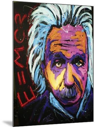 Einstein New 001-Rock Demarco-Mounted Giclee Print