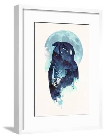 Midnight Owl-Robert Farkas-Framed Giclee Print