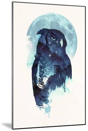 Midnight Owl-Robert Farkas-Mounted Giclee Print
