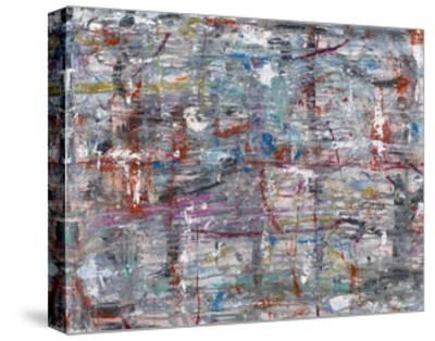 Julibee Series Triptych 1- Sona-Stretched Canvas Print