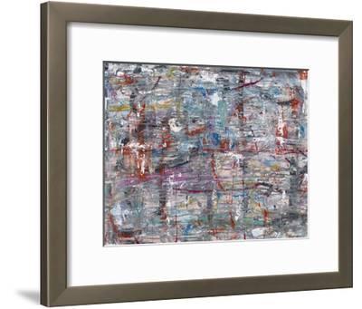 Julibee Series Triptych 1- Sona-Framed Giclee Print