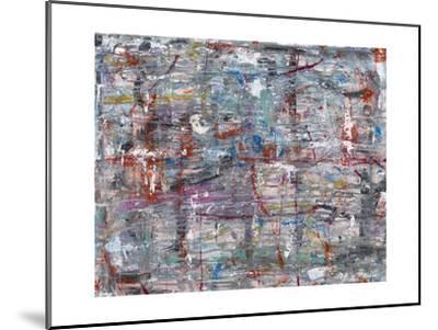 Julibee Series Triptych 1- Sona-Mounted Giclee Print