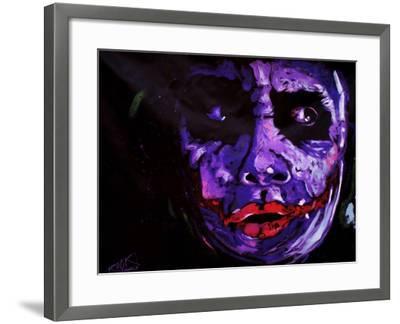 Heath Ledger 001-Rock Demarco-Framed Giclee Print