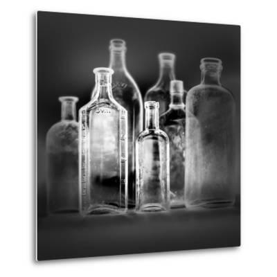 Glass Bottles-Moises Levy-Metal Print