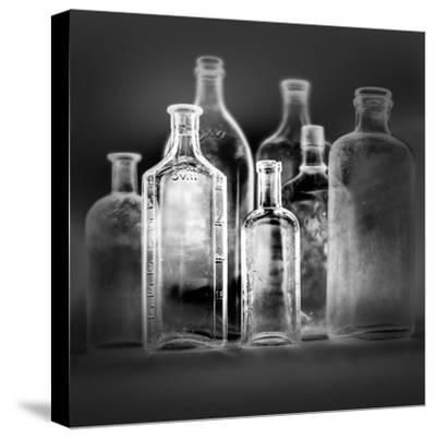 Glass Bottles-Moises Levy-Stretched Canvas Print