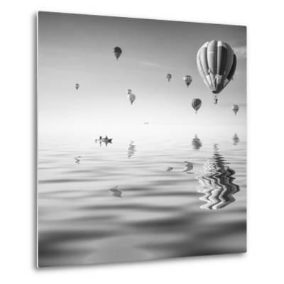 Love is in Air VII-Moises Levy-Metal Print