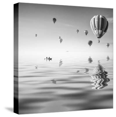 Love is in Air VII-Moises Levy-Stretched Canvas Print