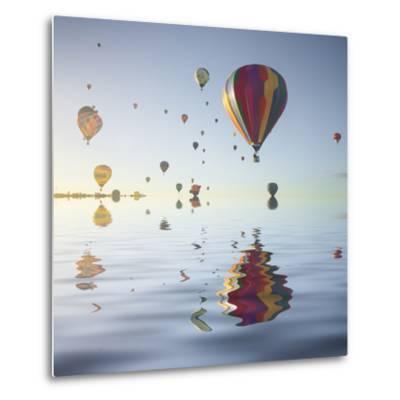 Love is in Air VI-Moises Levy-Metal Print