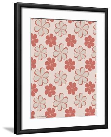 Pink Swirl Pattern-Rachel Gresham-Framed Giclee Print