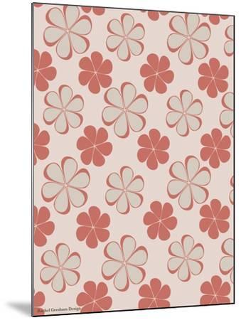 Pink Swirl Pattern-Rachel Gresham-Mounted Giclee Print