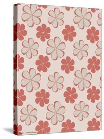 Pink Swirl Pattern-Rachel Gresham-Stretched Canvas Print
