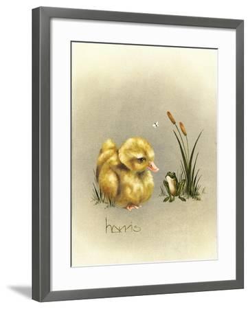 Soul Mates-Peggy Harris-Framed Giclee Print
