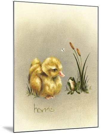 Soul Mates-Peggy Harris-Mounted Giclee Print