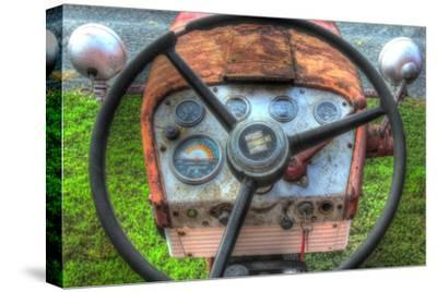 Tractor Seat 1-Robert Goldwitz-Stretched Canvas Print