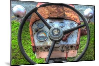 Tractor Seat 1-Robert Goldwitz-Mounted Premium Giclee Print
