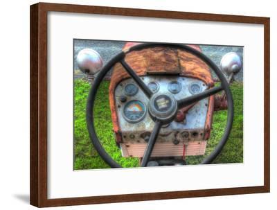 Tractor Seat 1-Robert Goldwitz-Framed Premium Giclee Print