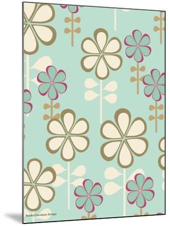 Teardrop Floral-Rachel Gresham-Mounted Giclee Print