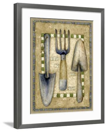 Time to Dig-Robin Betterley-Framed Giclee Print