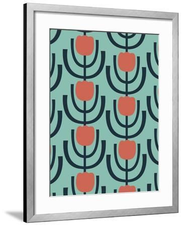 Flower Garden 2-Rachel Gresham-Framed Giclee Print