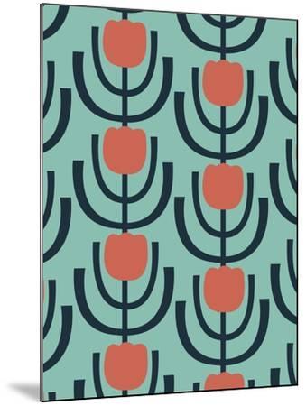Flower Garden 2-Rachel Gresham-Mounted Giclee Print