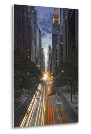 New York City, Empire State Building-Moises Levy-Metal Print