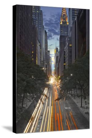 New York City, Empire State Building-Moises Levy-Stretched Canvas Print