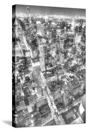 Gotham City 1-2-Moises Levy-Stretched Canvas Print