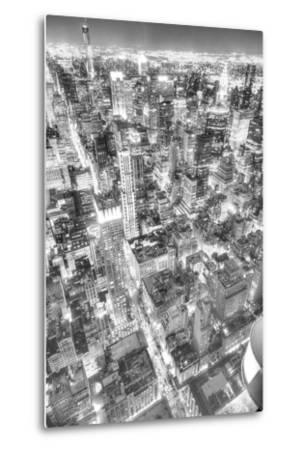 Gotham City 1-2-Moises Levy-Metal Print