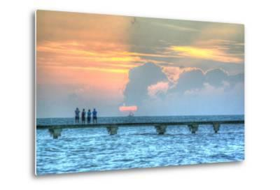 Sunset Witness-Robert Goldwitz-Metal Print
