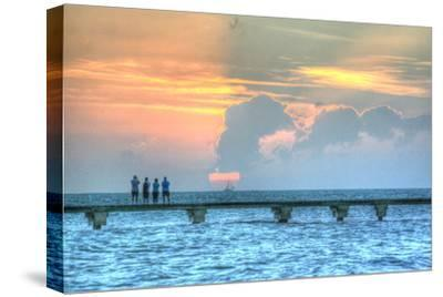 Sunset Witness-Robert Goldwitz-Stretched Canvas Print