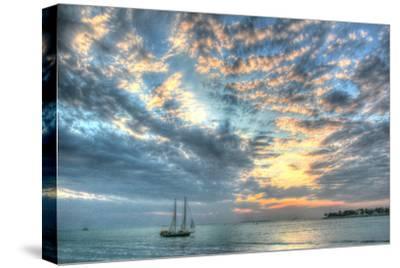 Mallory Sunset-Robert Goldwitz-Stretched Canvas Print