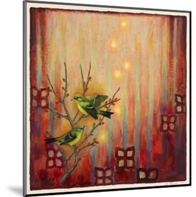 Sunset Birds-Rachel Paxton-Mounted Giclee Print