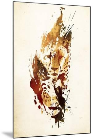 El Guepardo-Robert Farkas-Mounted Giclee Print