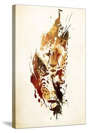 El Guepardo-Robert Farkas-Stretched Canvas Print