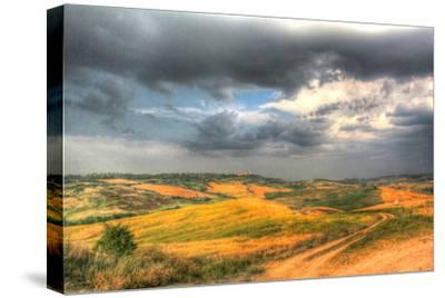 Tuscan Storm II-Robert Goldwitz-Stretched Canvas Print