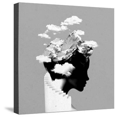 Its a Cloudy Day-Robert Farkas-Stretched Canvas Print