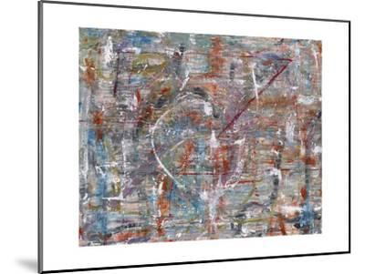 Julibee Series Triptych 3- Sona-Mounted Giclee Print