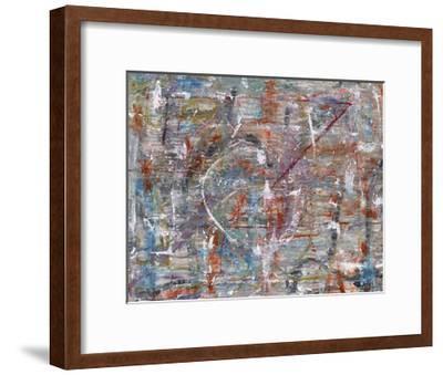 Julibee Series Triptych 3- Sona-Framed Giclee Print