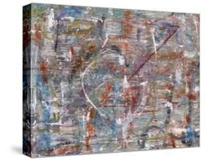 Julibee Series Triptych 3- Sona-Stretched Canvas Print