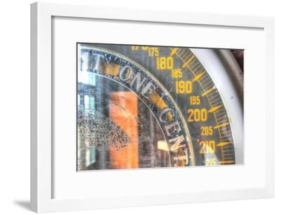Penny Scale detail-Robert Goldwitz-Framed Premium Giclee Print