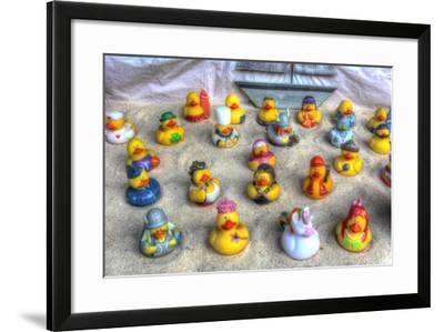 Rubber Duckies-Robert Goldwitz-Framed Giclee Print