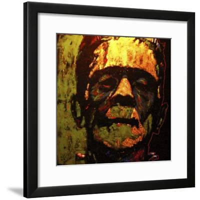 Frank N Stein 001 Touched-Rock Demarco-Framed Giclee Print